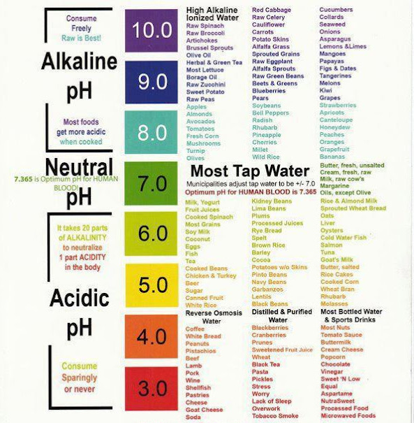 Foods and PH